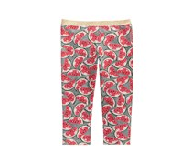 Epic Threads Girls Printed Capri Leggings, Pewter Heather
