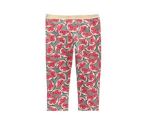 Epic Threads Little Girls Printed Capri Leggings, Pewter Heather