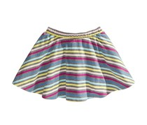 Epic Threads Striped Scooter Skirt, Pewter Heather