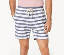 Club Room Men's Stretch Drawstring Shorts, Grey Combo