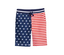 Epic Threads Red, White Blue Printed Short, Combo