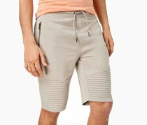 International Concepts Mens Remix Knit Shorts, Beige