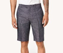 International Concepts Mens Textured Shorts, Navy Combo
