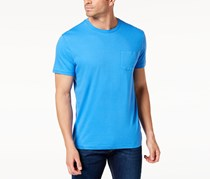Club Room Mens Pocket T-Shirt, Palace Blue