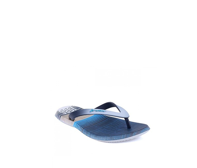 Men's Energy Ad Flipflops, White/Blue