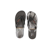 Rider Men's  R1 Energy AD Thong Sandals, Black/Grey