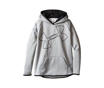 Under Armour Girl's Storm Logo Graphic-Print Hoodie, Gray