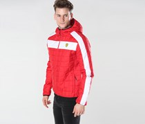 Ferrari Packable Padded Jacket, Red