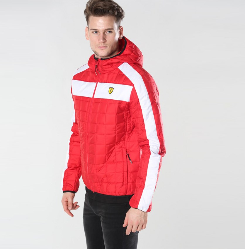 Packable Padded Jacket, Red