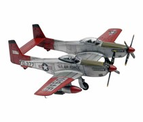 Revell Twin Mustang F-82G Plastic Model Kit, Grey/Red