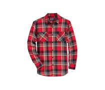 American Rag Cie Men's Plaid Flannel Shirt, Red