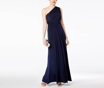 Adrianna Papell Convertible Jersey Gown Dress, Navy