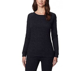 32 Degrees Women's Soft Fleece Top, Black