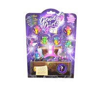 Genie Girls 10 Figure Pack Collection 1, Pink/Green/Purple/Blue