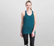 Reebok Women's Active Racer Back Tank, Teal Green