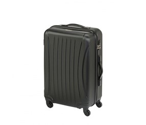 Princess Traveler Chicago ABS Deluxe Suitcase. Size S, Black