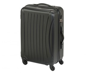 Princess Traveler Chicago ABS Deluxe Suitcase. Size L, Black