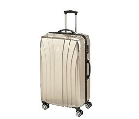 Princess Travellers JAMAICA Luggage Trolley Bag, Gold