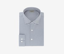 Kenneth Cole Reaction Men's Techni-Cole Slim-Fit Three-Way Stretch Shirt, Blue Combo