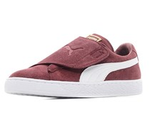 Puma Men's Suede Wrap Sneakers, Cabernet