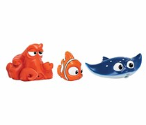 Bandai Finding Dory Bath Squirters Set, Red/Orange/Blue