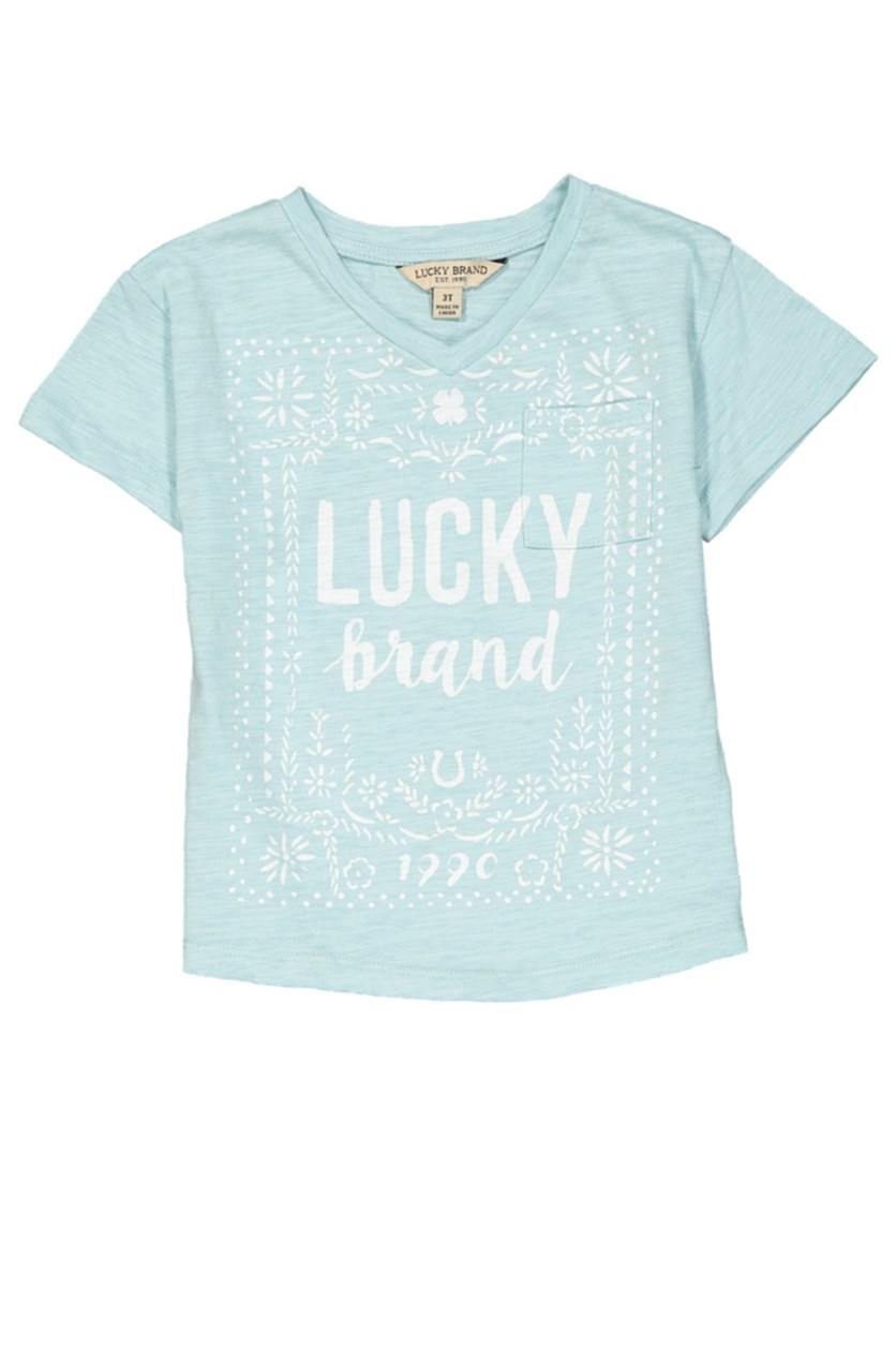Toddlers Casey Tee, Light Blue