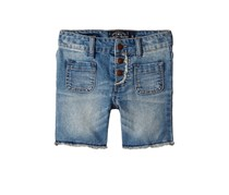 Lucky Brand Toddlers Vera Long Short, Wash Blue