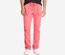 Dkny Men's Classic-Fit Drawstring Pants, Sunset Coral
