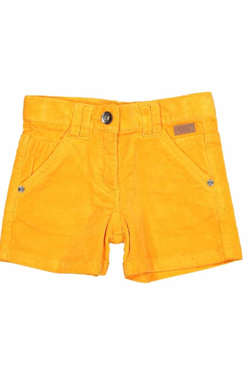Girls Stretch Short, Orange