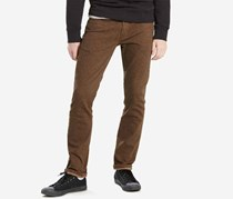 Levis Mens 511 Slim-Fit Stretch, Rich Brown