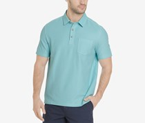 G.H. Bass Co. Mens Terrain Super Cool Polo, Angel Blue