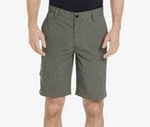 G.h. Bass & Co. Men's Cliff Peak Classic-Fit Stretch Performance Heather Hybrid, Olive Night