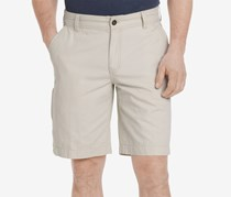G.H. Bass & Co. Men's Canvas Terrain Shorts, Silver Birch