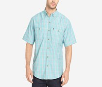 G.h. Bass & Co. Men's Explorer Fancies Yarn-Dyed Plaid Performance Shirt, Meadowbrook