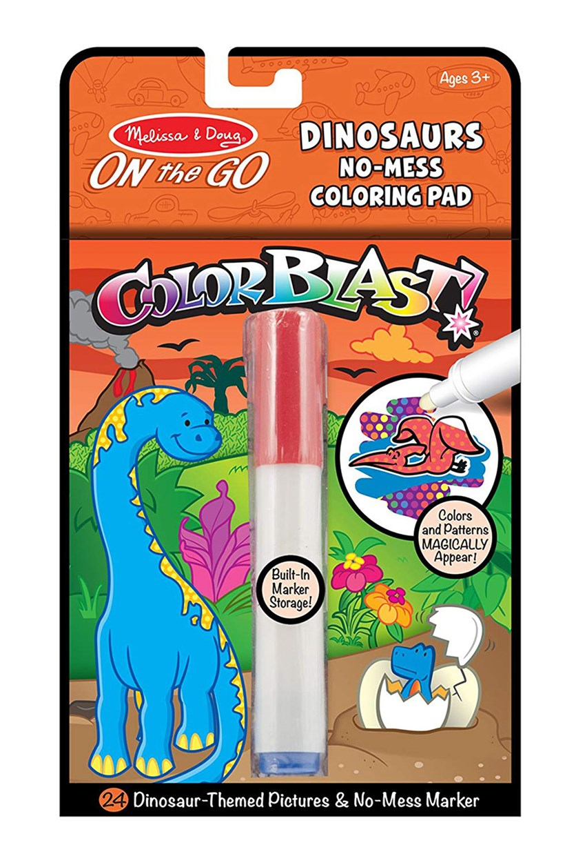 Melissa & Doug On the Go ColorBlast, Red Combo