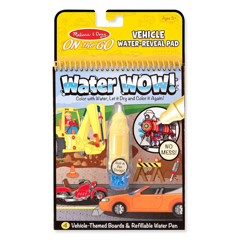 Melissa & Doug On the Go Water Wow, Yellow Combo