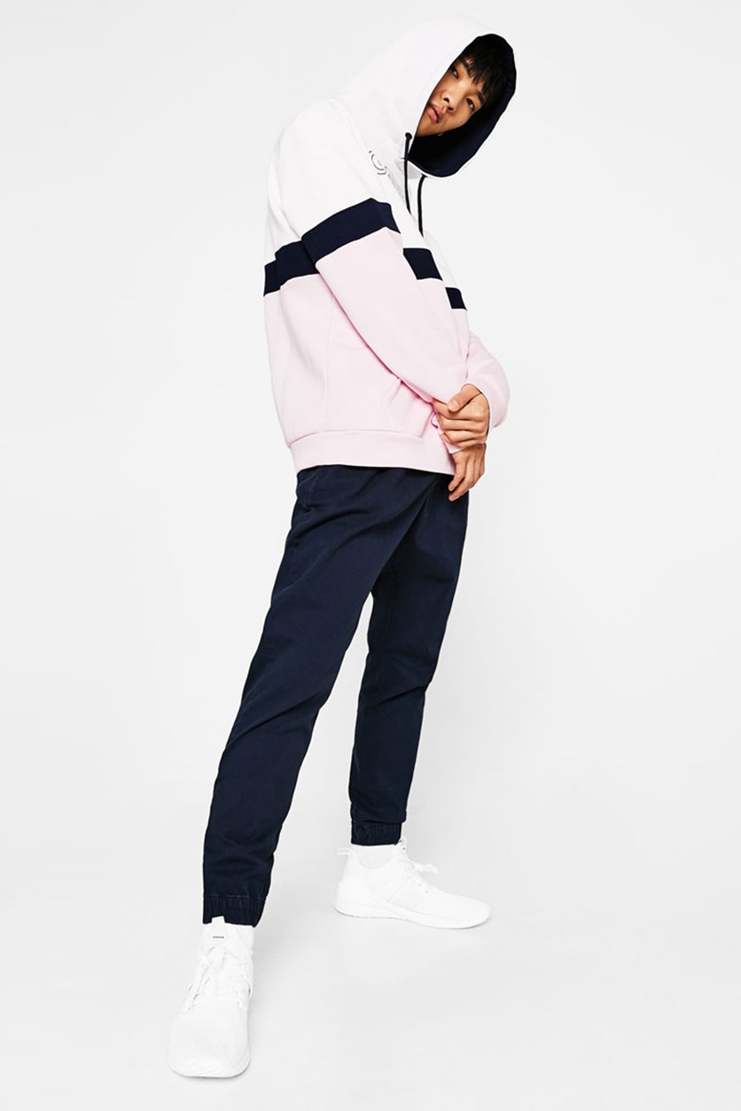Jogger Trousers With Cord, Navy