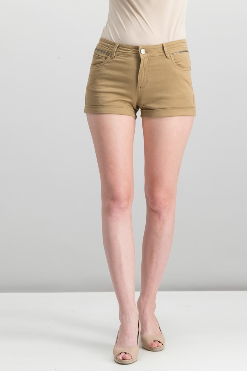 Women's Short, Brown