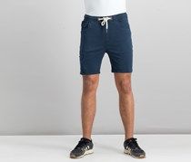 House Men's Plain Drawstring Shorts, Navy