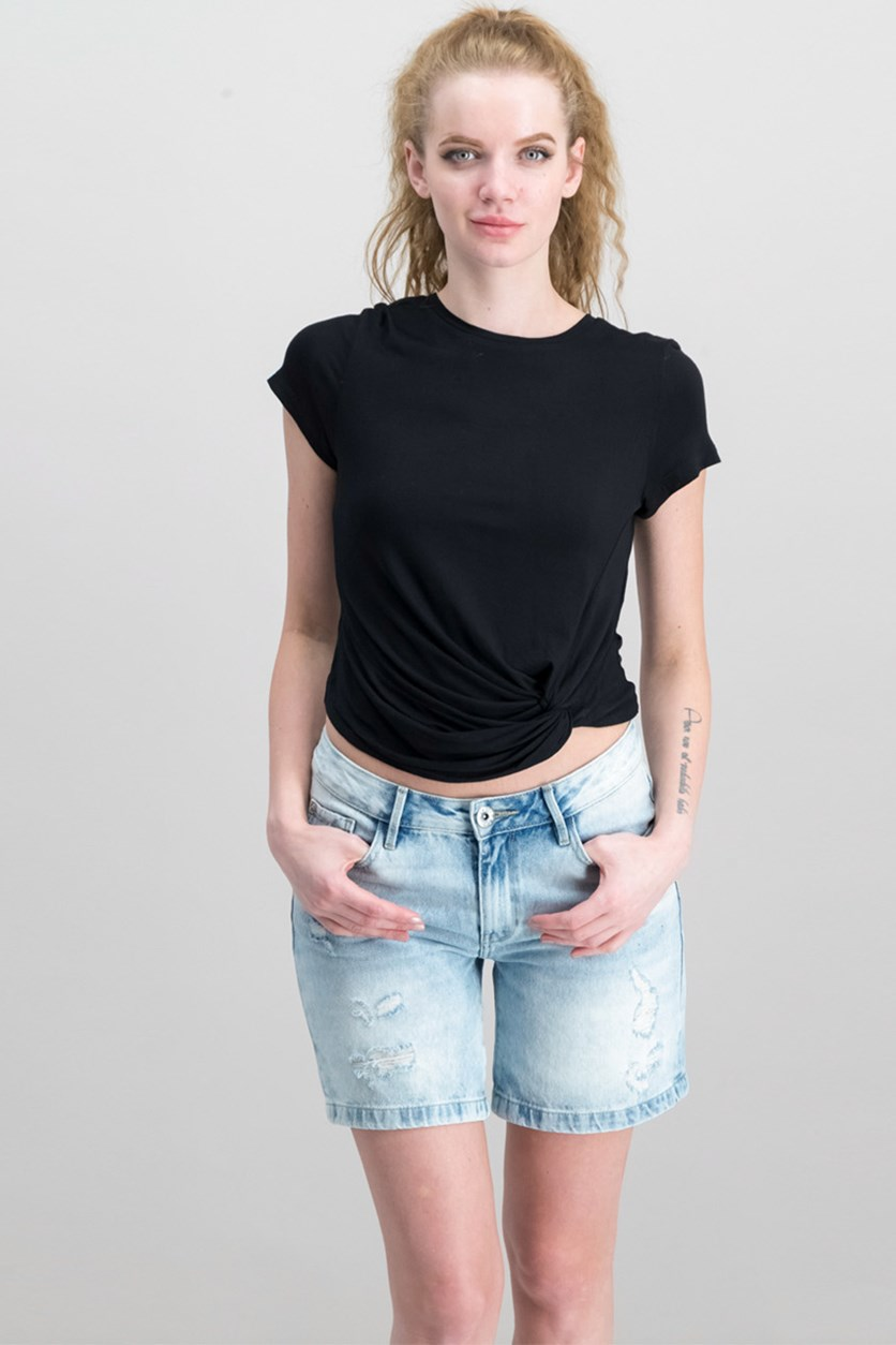 Women's Tops, Black