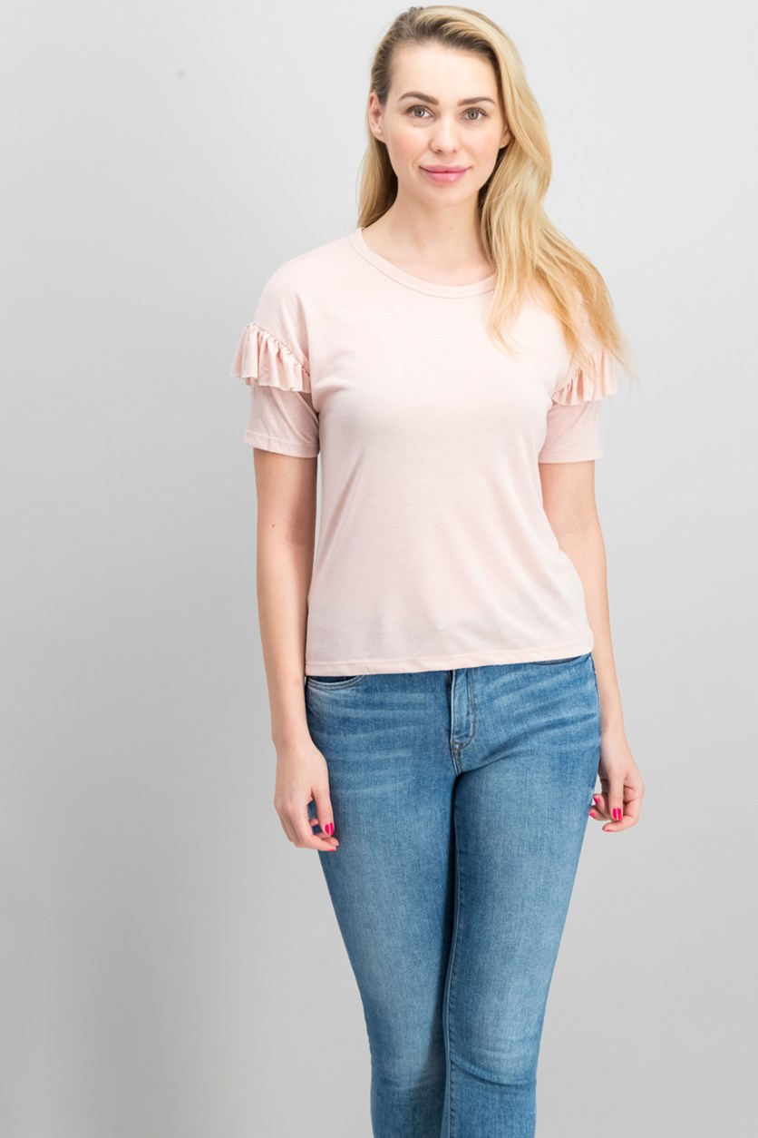 Women's Plain Top, Peach