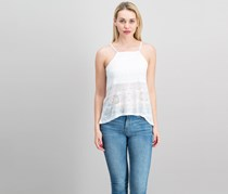 Cropp Women's Textured Top, White