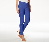 Charter Club Bristol Colored Slim Ankle Jean, Blazing Blue