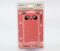 Cute Panda Power Bank, Pink