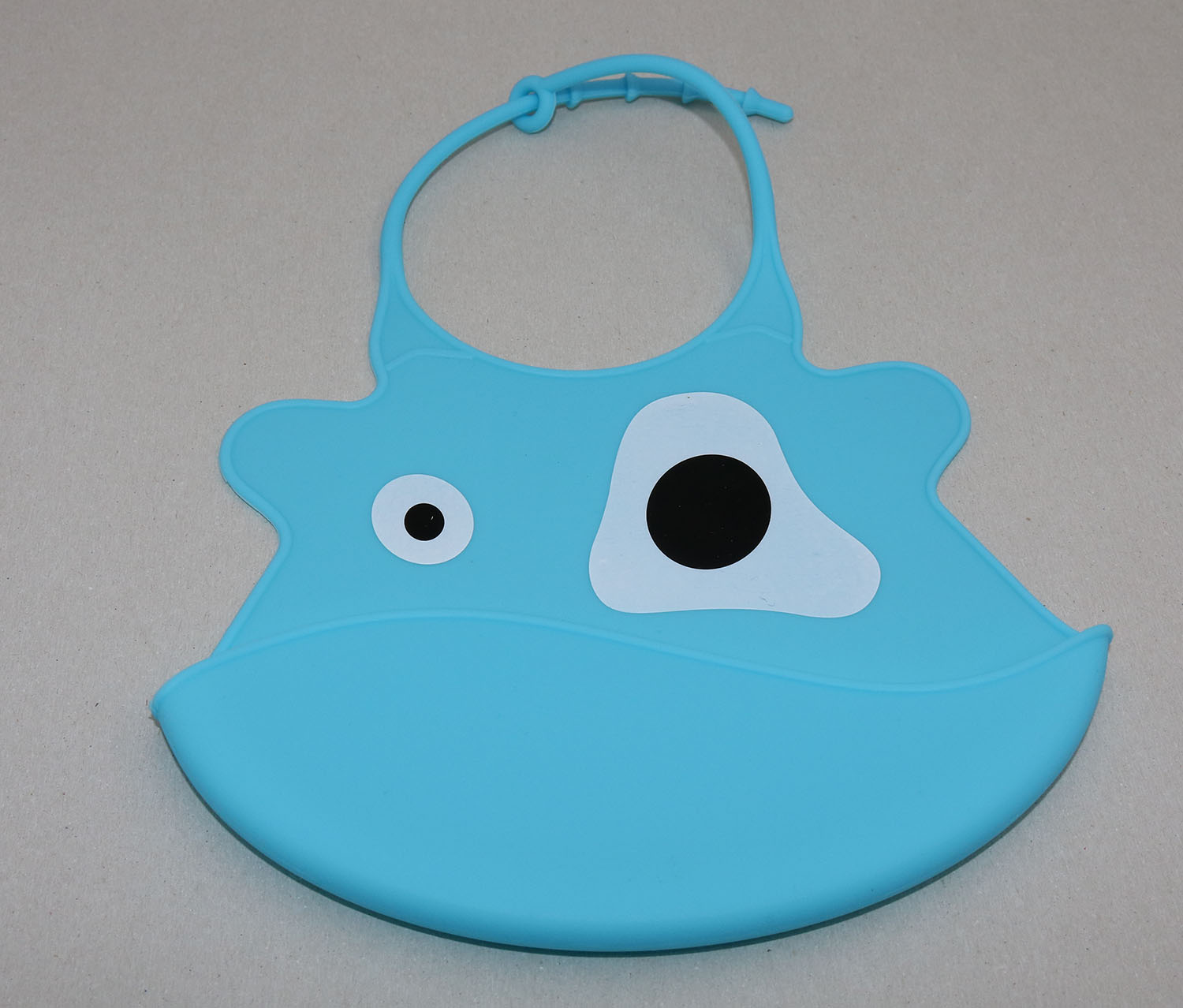 Baby Little Monster Bib, Blue