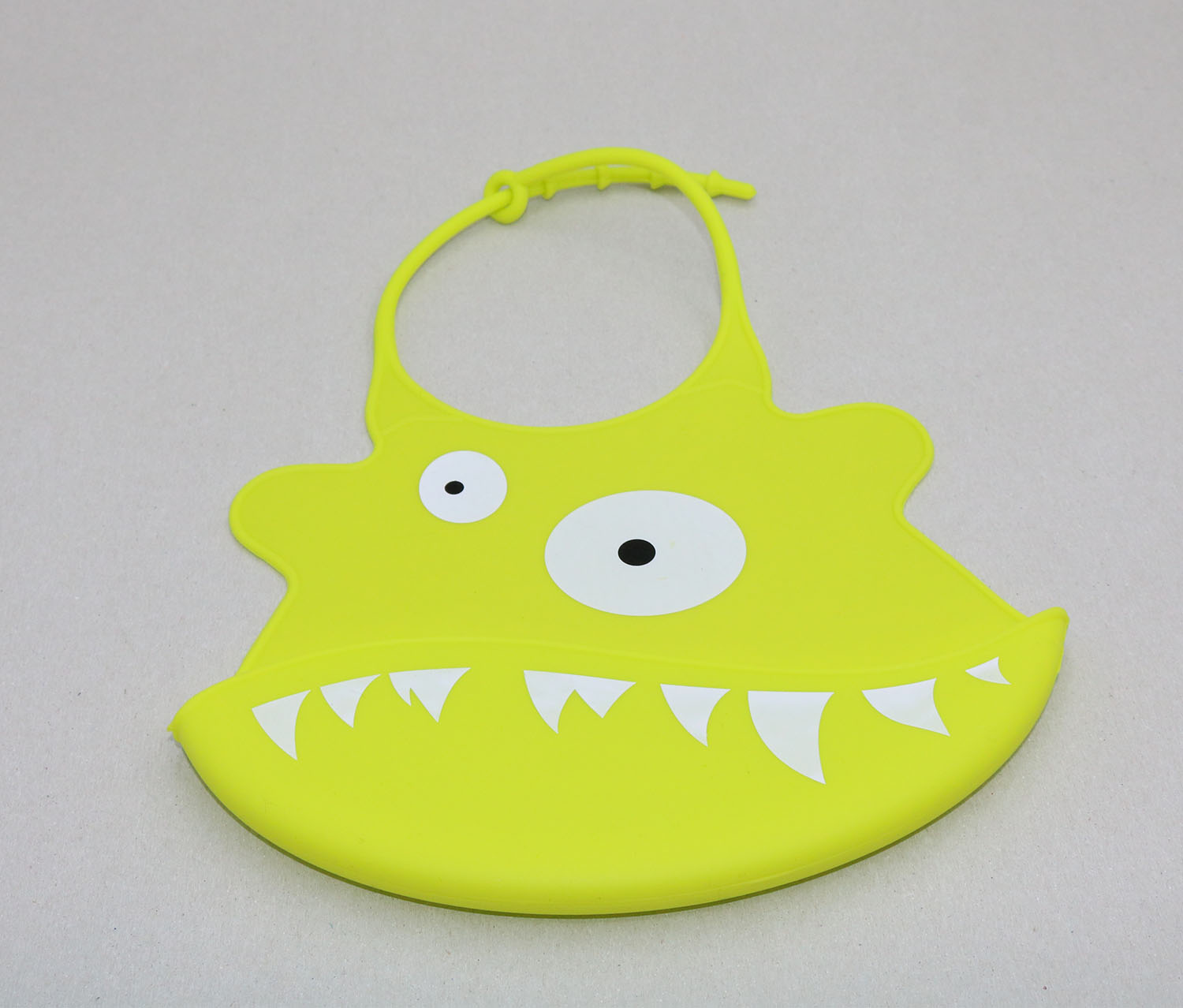 Baby Little Monster Bib, Green