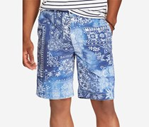 Ralph Lauren Mens Relaxed-Fit Chino Shorts, Moroccan Tile