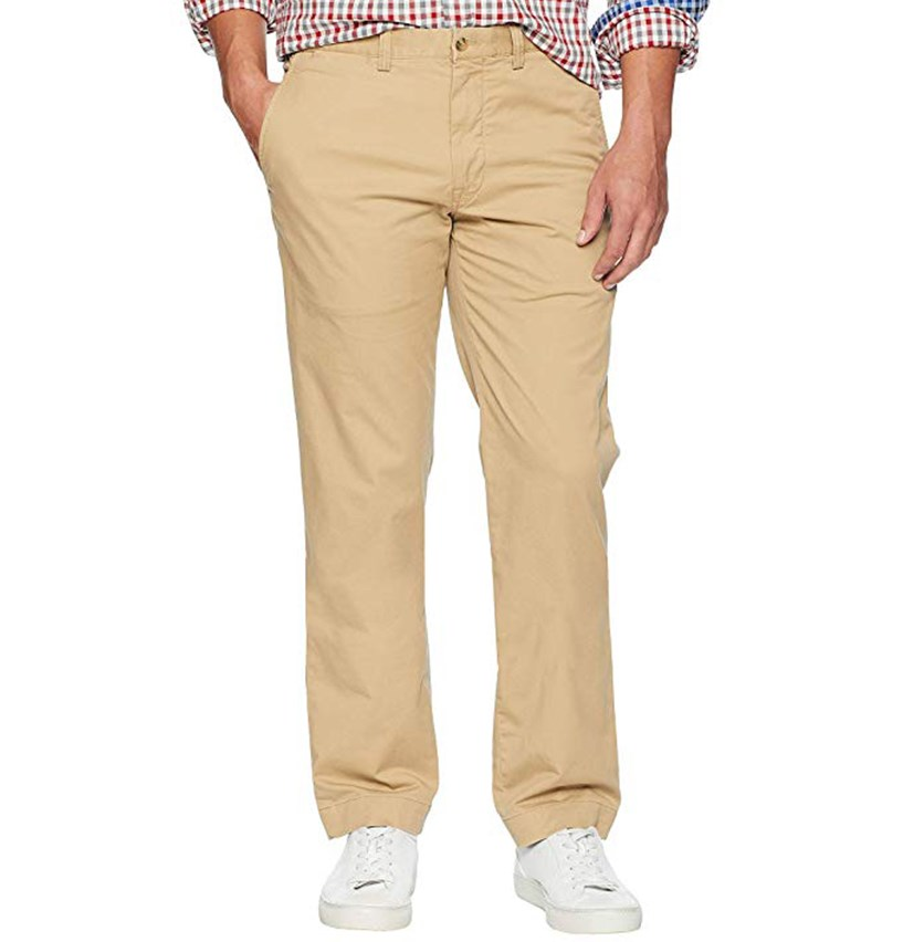 Men's Straight Fit Chino Pants, Luxury Tan