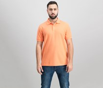 Club Room Solid Estate Performance Shirt, Melon Burst
