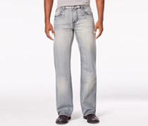 Inc International Concepts Men's Daly Relaxed-Fit Jeans, Light Wash